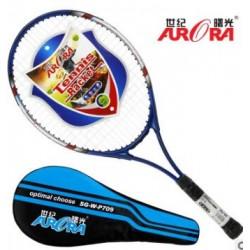 World Pa Long tennis racket male and female adult general aluminum student training tennis racket single tennis