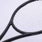 blx95/blx90 RogerFederer Black Tennis Racket Equipped with Bag Foamed Handle Glue 100% Carbon Fibre Frame  Free shipping