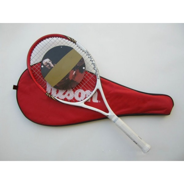 nylon Tennis 8 colors High-density carbon nano Tennis racket high quality carbon aluminum Outdoor Sports men women Tennis racket