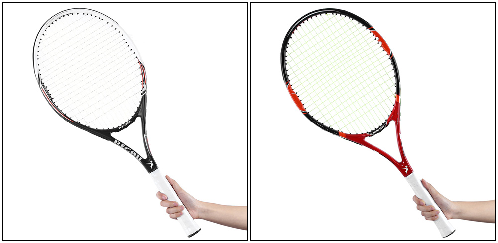 2ColorsCompetitiveTrainingTennisRacketCarbonAluminumAlloyTennisRacketDurableWearResistantTennisRacket-32665224219