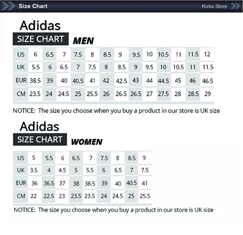 Country Road Shoe Size Chart