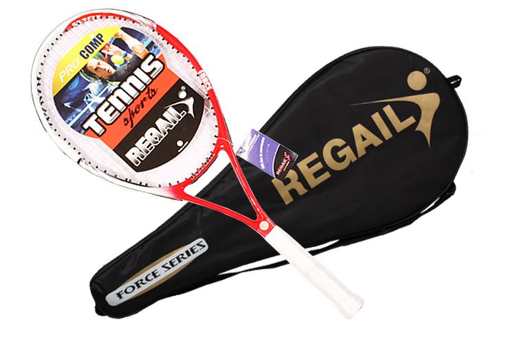 Instock1PieceJuniorCarbonTennisRacquetTrainingRacketforKidsYouthChildrensTennisRackets-32787472157