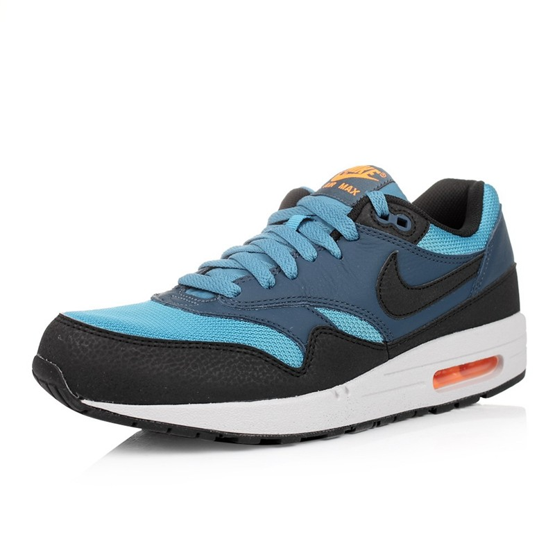 NIKE-Original-Breathable-Air-Max-1-Men39s-Running-Shoes-Sneakers-Blue-Red-and-Yellow-32805549883
