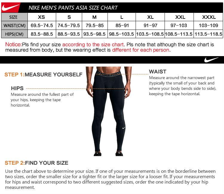 Original Nike Men S Shorts Sportswear Mens Size Chart