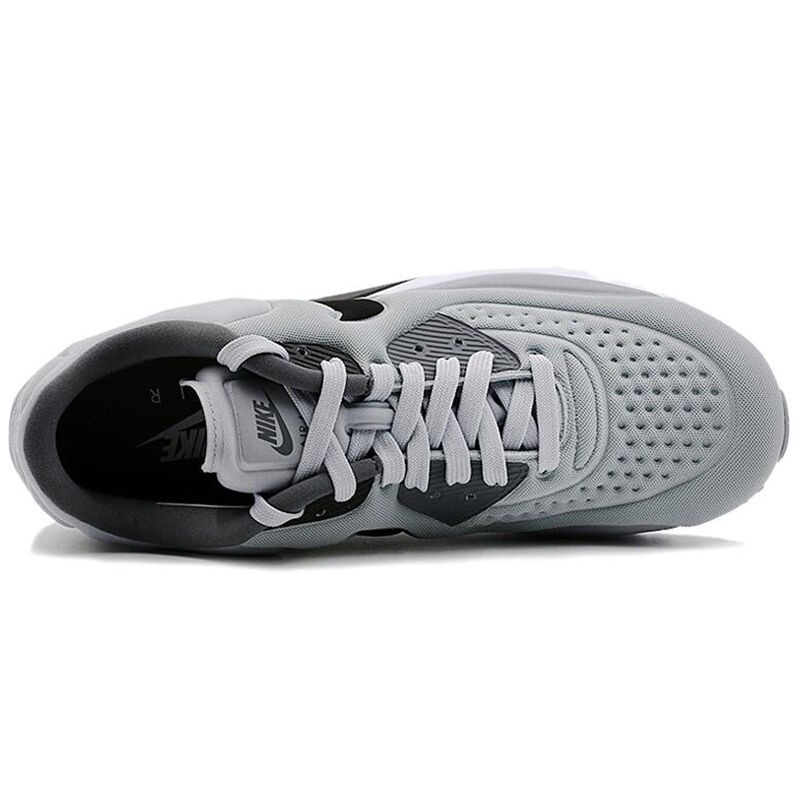 Original-NIKE-AIR-Breathable-MAX-90-ULTRA-SE-Men39s-Cushioning-Running-Shoes-Sneakers-Grey-and-White-32808231267