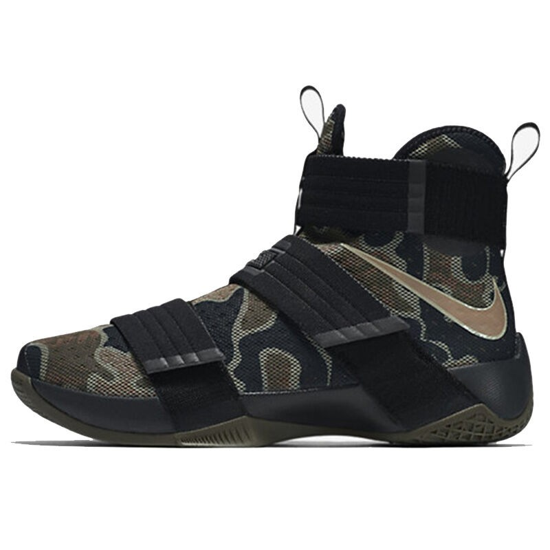 Original-New-Arrival--NIKE--Men39s-Camouflage-Basketball-Shoes-Sneakers--32760901488