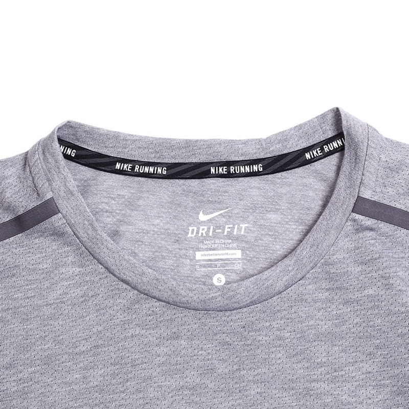 Original-New-Arrival--NIKE-DF-COOL-TAILWIND-Men39s-T-shirts-short-sleeve-Sportswear--32675051140