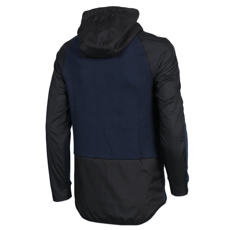 Original-New-Arrival--NIKE-Men39s-Black-Knitted-Jacket-Hooded-Sportswear--32760921566