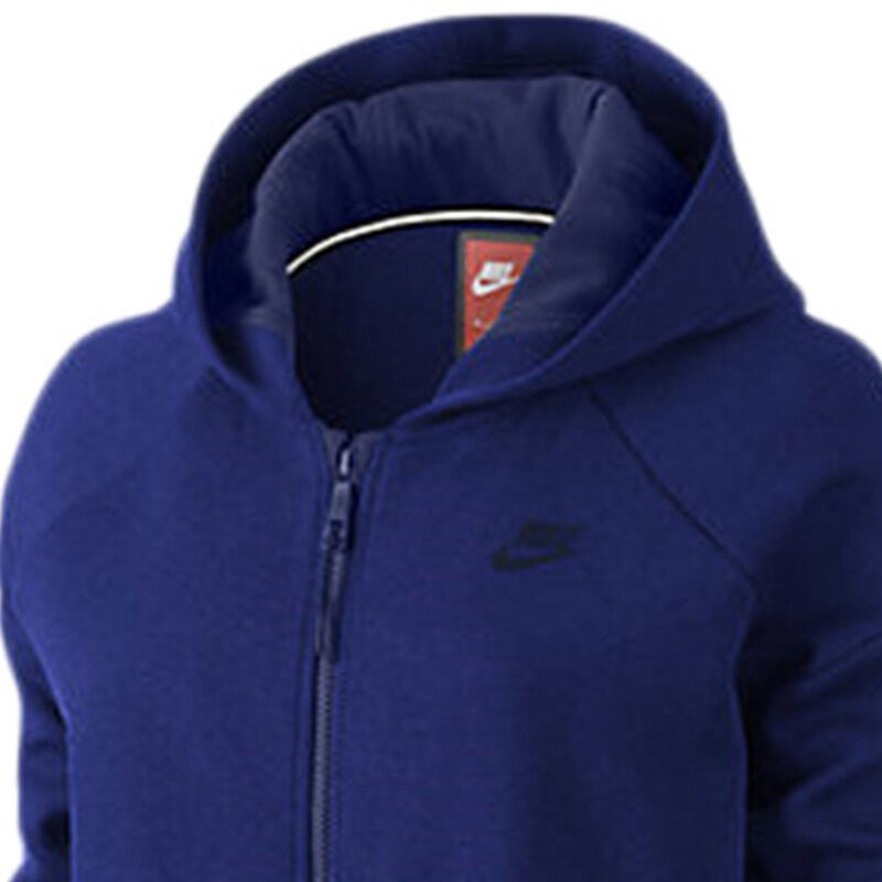 Original-New-Arrival--NIKE-TECH-FLEECE-CCOON-MESH-Women39s-Jacket-Hooded-Sportswear--32677469126