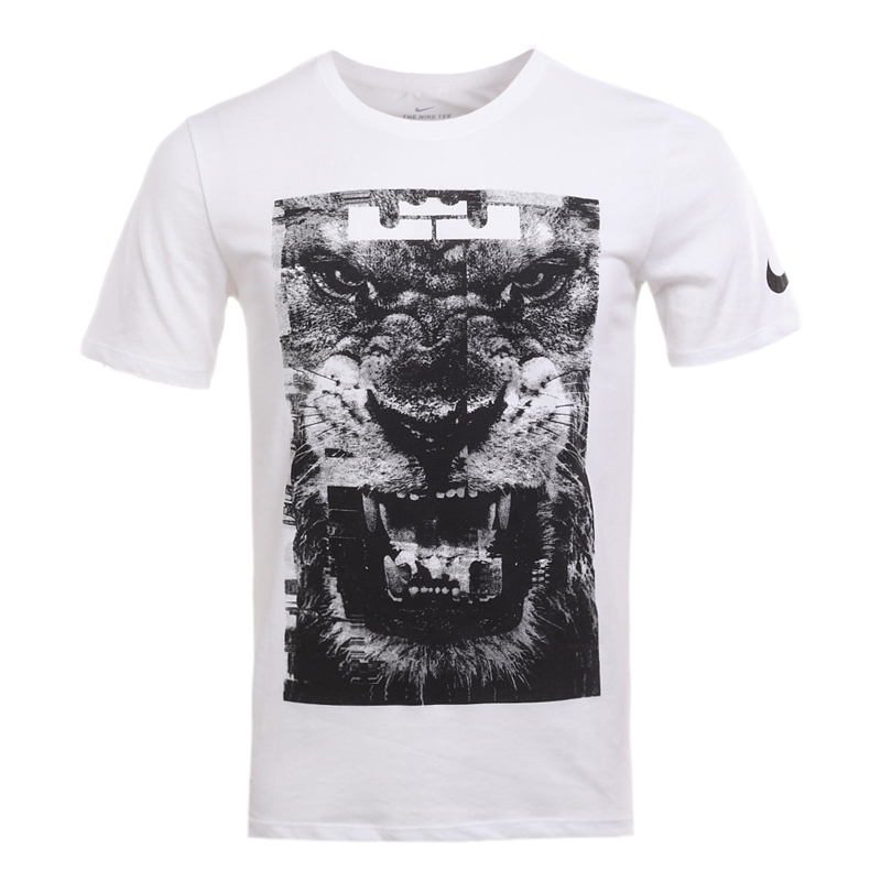 Original-New-Arrival-2017-NIKE-DRY-TEE-LION-Men39s-T-shirts-short-sleeve-Sportswear-32810634271