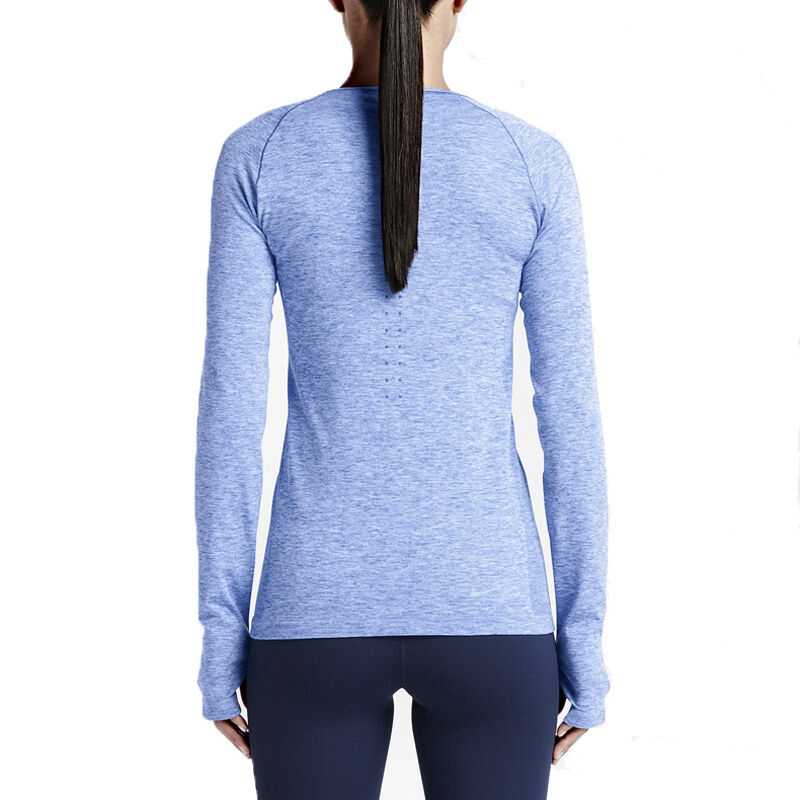 Original-New-Arrival-Authentic-NIKE-DRI-FIT-KNIT-LONG-SLEEVE-Women39s-T-shirts-Long-sleeve-Sportswea-32808624278