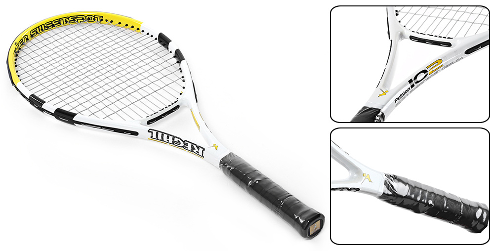 REGAILCarbonAluminumAlloyFrameTennisRacketRegularGradeUnisexTennisRacketCellosilkThread2Colors-32695815885